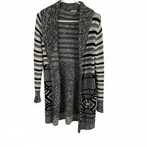 Urban Outfitters Ecote Striped Open Front Duster S
